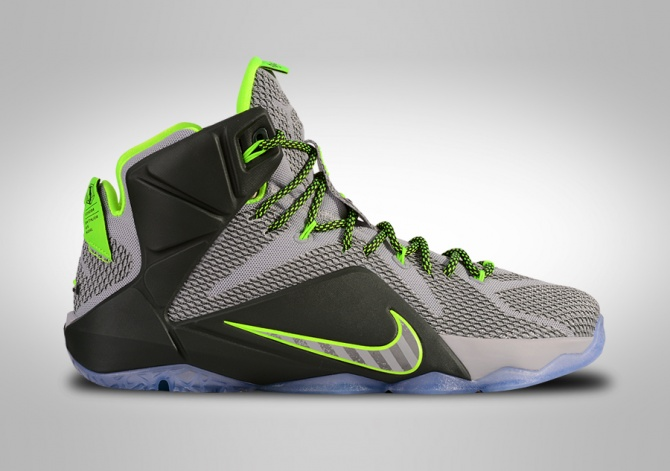 NIKE LEBRON XII DUNKMAN ELECTRIC GREEN