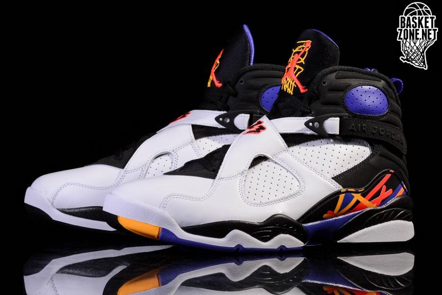 7d5392731c0 Air Jordan 8 VIII Retro BG Three Peat Mens basketball shoes