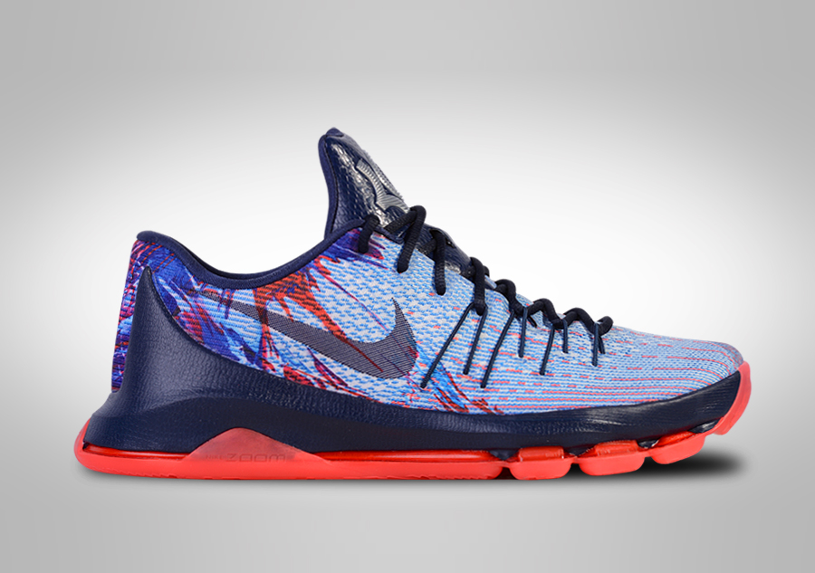 NIKE KD 8 'INDEPENDENCE DAY'. 749375-446
