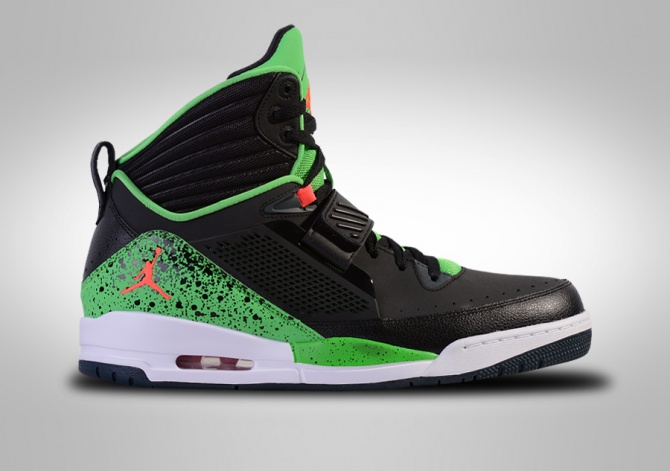 NIKE AIR JORDAN FLIGHT '97 TOXIC GREEN BLACK
