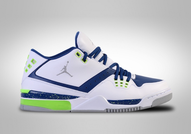 NIKE AIR JORDAN FLIGHT 23 WHITE/BLUE GHOST GREEN