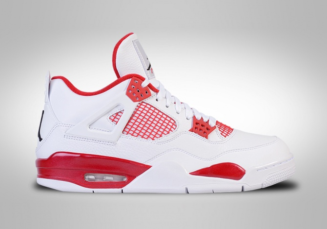 NIKE AIR JORDAN 4 RETRO ALTERNATE '89 BG (SMALLER SIZES)