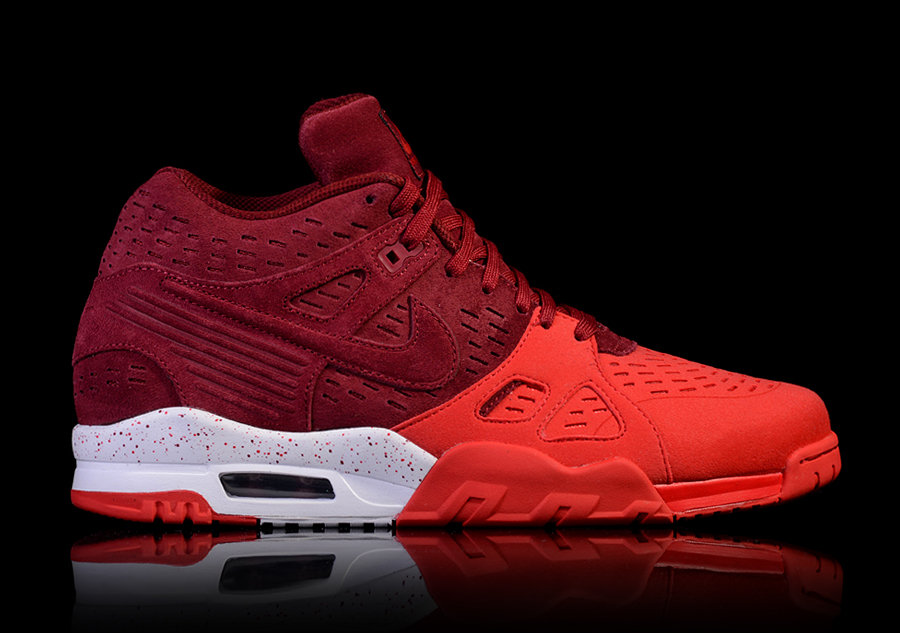 NIKE AIR TRAINER 3 LEATHER 'TEAM RED