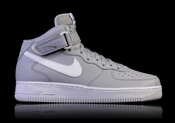 NIKE AIR FORCE 1 MID '07 'WOLF GREY'