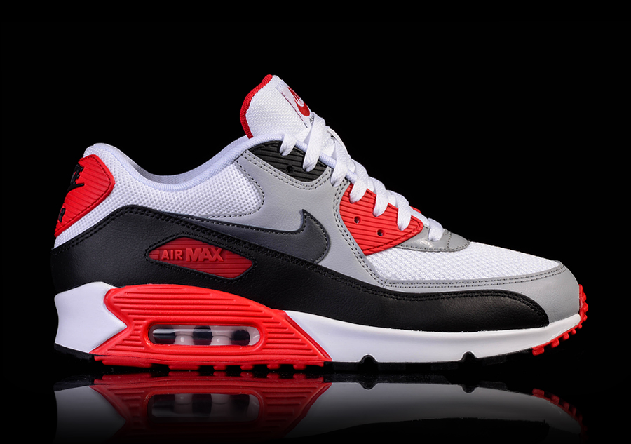check out a3341 26fc8 NIKE AIR MAX 90 ESSENTIAL WHITE FIRE RED price €115.00   Basketzone.net