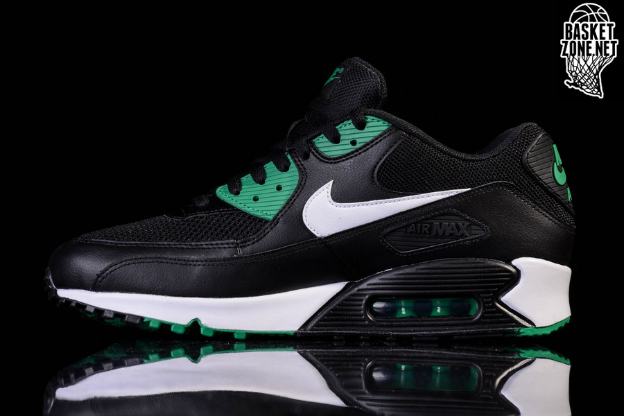 e266cdf8494 NIKE AIR MAX 90 ESSENTIAL  BLACK LUCID GREEN  .