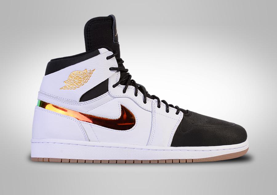 grossiste d09e5 f55a9 Nike Air Jordan Retro 1 Black And White backgroundheaven.co.uk