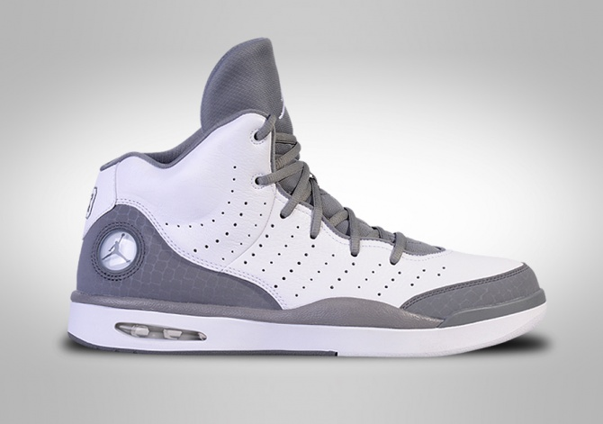 NIKE AIR JORDAN FLIGHT TRADITION WHITE/COOL GREY