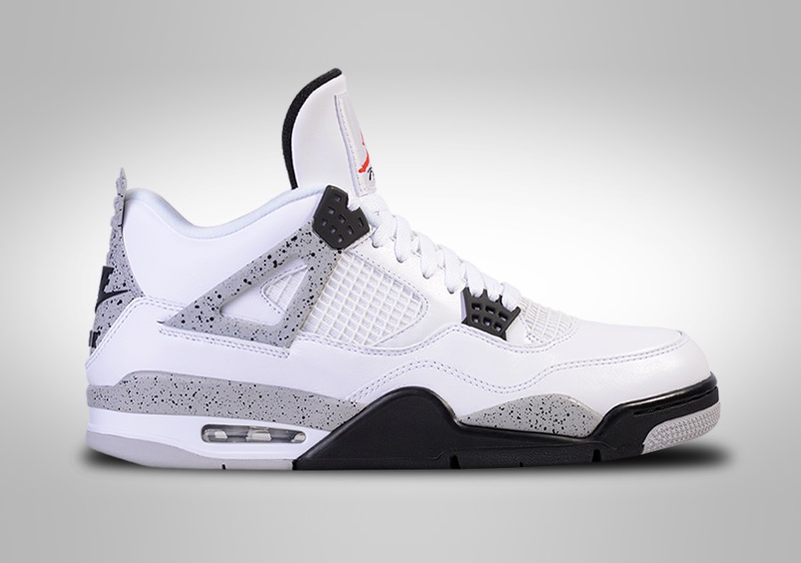 best cheap 4a1eb 5e5ed ... real nike air jordan 4 retro og white cement 39f69 758c2