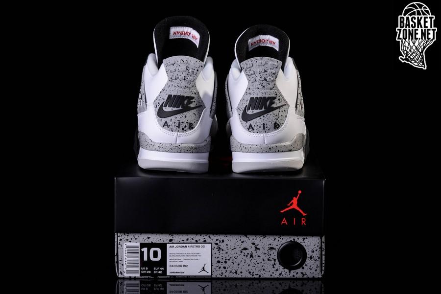 Air Jordan 4 Retro Og Entrenador 'cemento' NJinRGsrj0