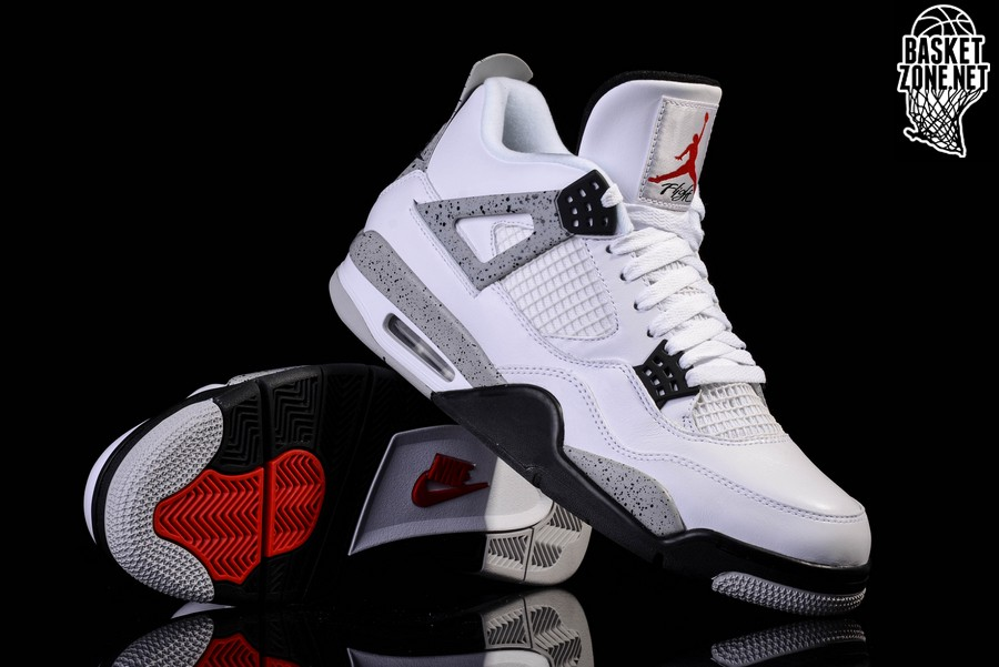 Nike Jordan 4 Retro White Cement