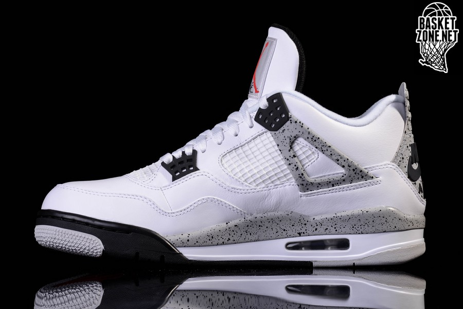 NIKE AIR JORDAN 4 RETRO OG WHITE CEMENT