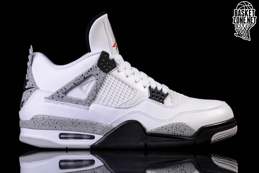 new concept a20a6 a7941 ... real nike air jordan 4 retro og white cement c8b74 b0e4a