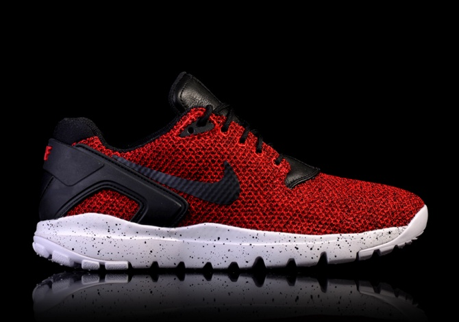 NIKE KOTH ULTRA LOW KNIT JACQUARD GYM RED/BLACK