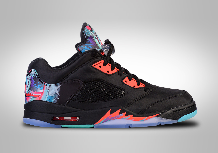 NIKE AIR JORDAN 5 RETRO LOW CNY CHINESE NEW YEAR LIMITED price €209.00   Basketzone.net