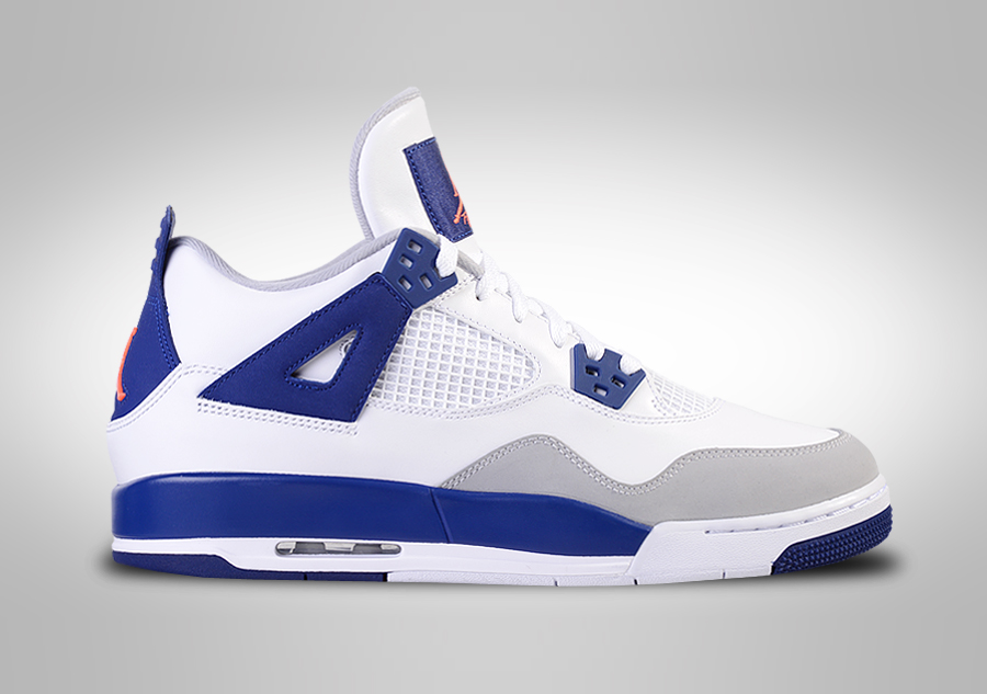 nike air jordan 4 retro 39 knicks 39 gg for 129 00. Black Bedroom Furniture Sets. Home Design Ideas