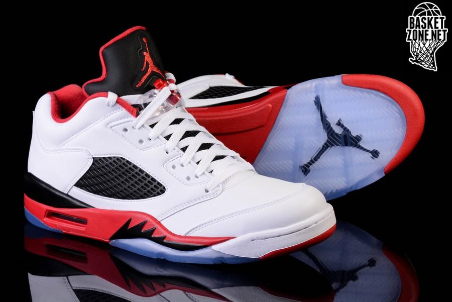 Nike Air Jordan 5 Retro Bas De Feu Rouge recommander à vendre choix pas cher cF8pGS2mo