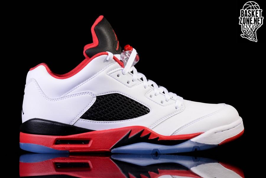 Nike Air Jordan V 5 Feu Rouge Rétro bNhfF