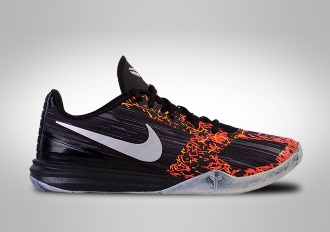 NIKE KOBE MENTALITY BLACK RED STICK