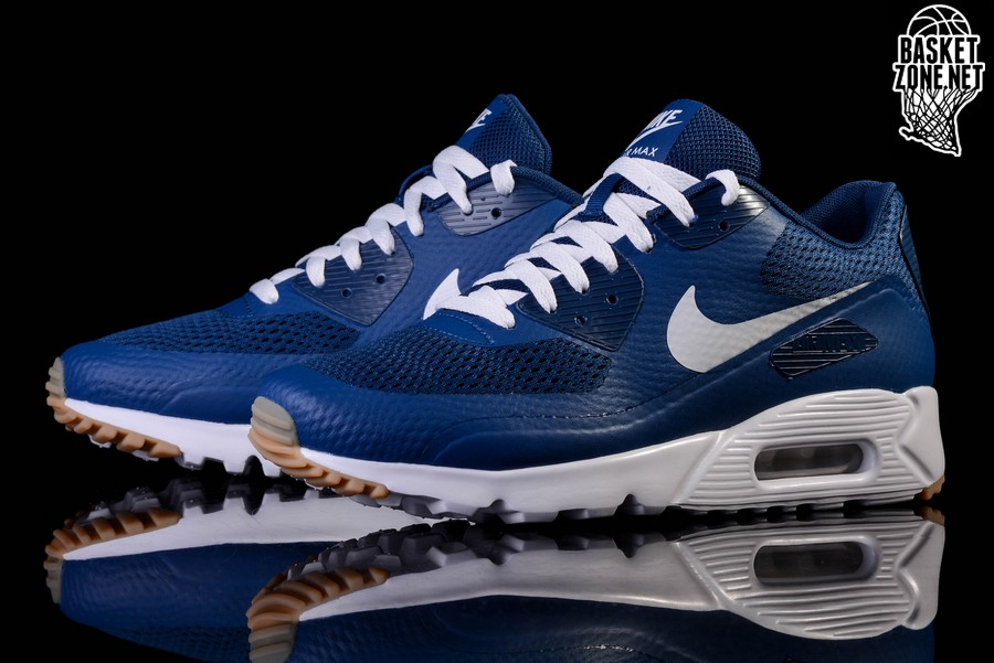 aa21df9ccf76 ... Chaussures De NIKE AIR MAX 90 ULTRA ESSENTIAL COASTAL BLUE ...