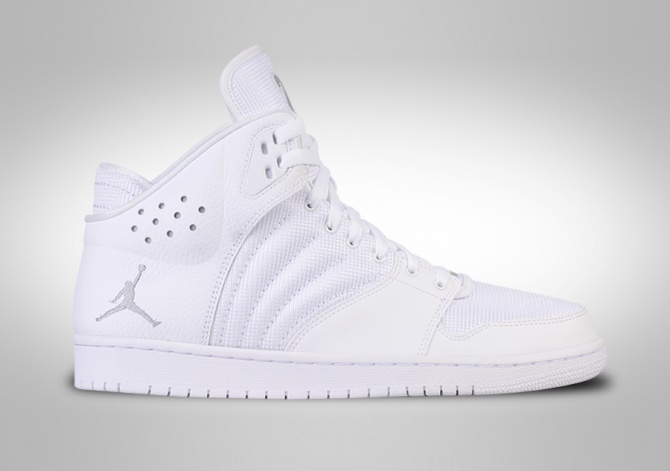 NIKE AIR JORDAN 1 FLIGHT 4 ALL WHITE
