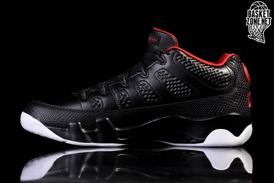 nike air max formateurs femmes - NIKE AIR JORDAN 9 RETRO LOW BRED for �137,50 | Basketzone.net