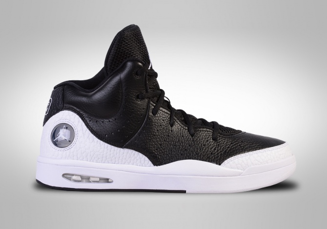 NIKE AIR JORDAN FLIGHT TRADITION BLACK & WHITE
