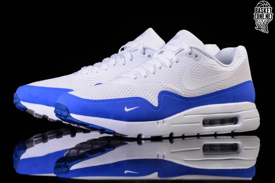 nike air max 1 white blue