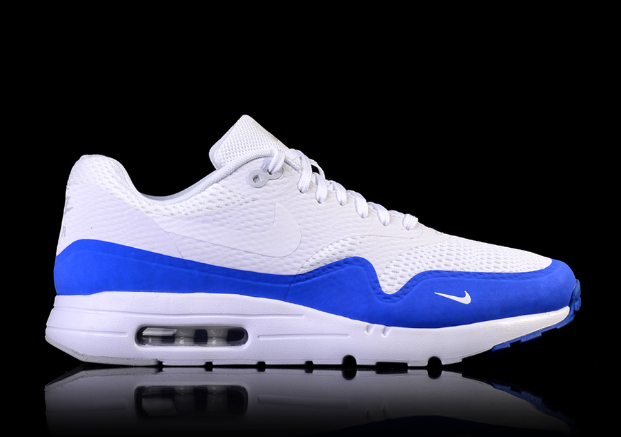 NIKE AIR MAX 1 ULTRA ESSENTIAL WHITE RACER BLUE price €122.50 ... e2ba882b0