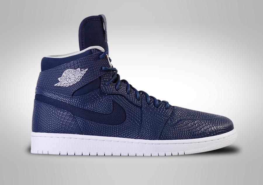 Nike Air Jordan 1 Rétro Mi Nouveau Brise-glace De La Marine De Minuit