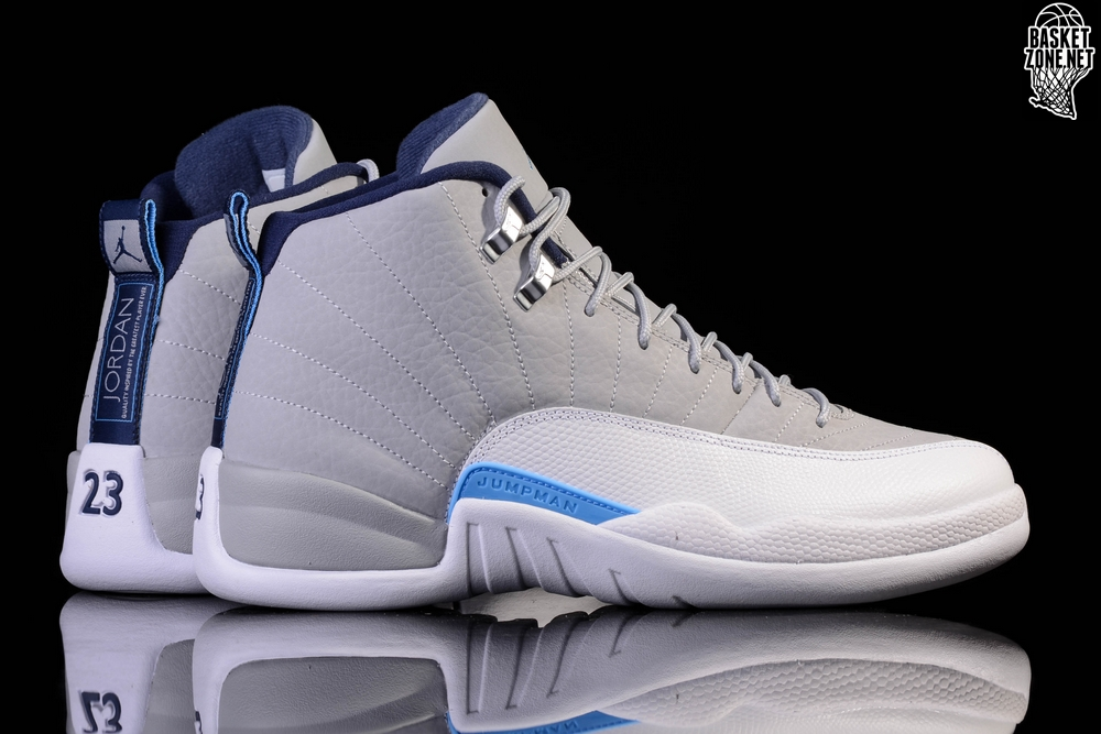 NIKE AIR JORDAN 12 RETRO UNC UNIVERSITY GREY GS (SMALLER SIZE) price u20ac87.50 | Basketzone.net