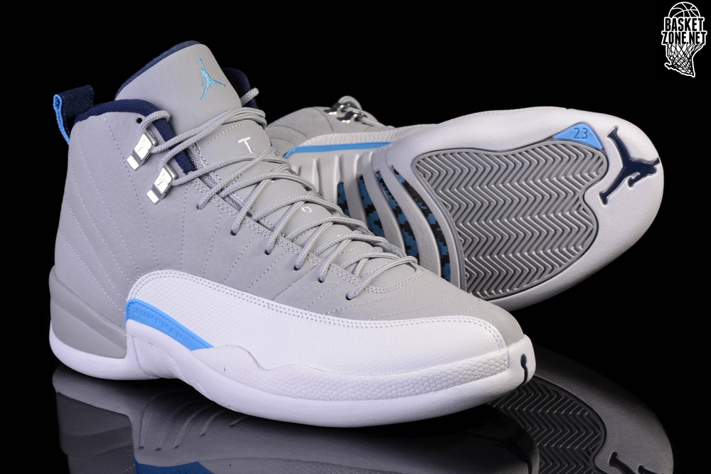 NIKE AIR JORDAN 12 RETRO UNC UNIVERSITY GREY price u20ac185.00 | Basketzone.net