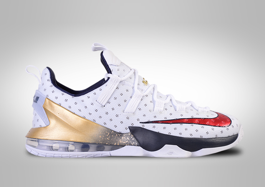 outlet store c1a75 dcc03 NIKE LEBRON XIII LOW USA OLYMPIC TEAM price €127.50   Basketzone.net