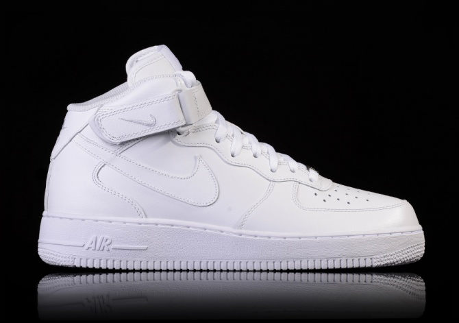 NIKE AIR FORCE 1 MID '07 WHITE