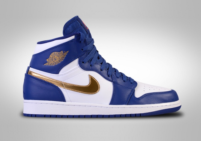 NIKE AIR JORDAN 1 RETRO HIGH OLYMPIC BG (SMALLER SIZE)