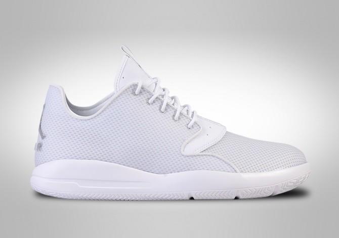 sports shoes 61065 358a4 NIKE AIR JORDAN ECLIPSE WHITE METALLIC SILVER