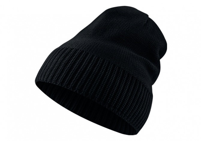 NIKE AIR JORDAN JUMPMAN BEANIE KNIT HAT BLACK