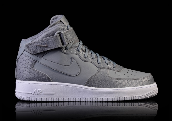 NIKE AIR FORCE 1 MID '07 LV8 COOL GRAY