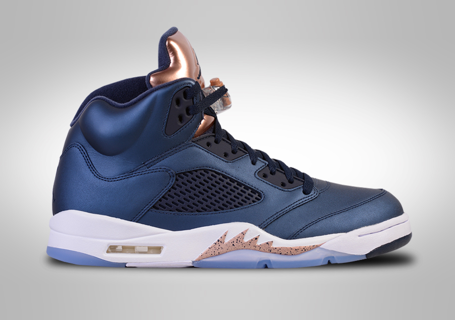 NIKE AIR JORDAN 5 RETRO BRONZE for u20ac18750 | Basketzone.net
