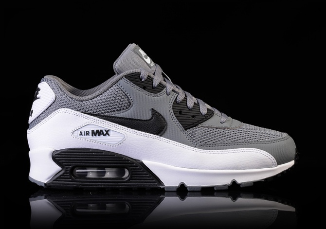 NIKE AIR MAX 90 ESSENTIAL BLACK OR GREY
