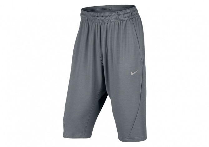 NIKE MEN'S DRY BASKETBALL HANGTIME MODERN SHORT COOL GREY
