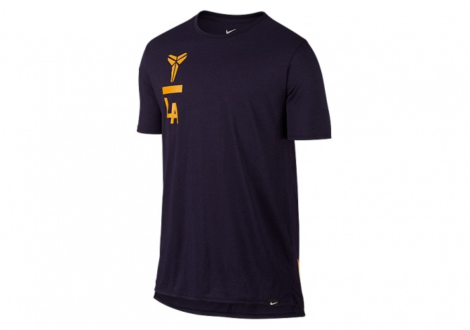 NIKE KOBE ART DROPTAIL TEE PURPLE DYNASTY