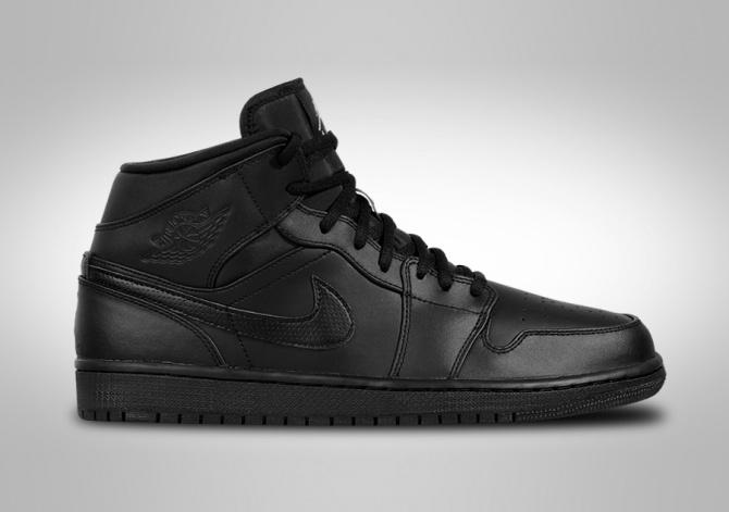 Air Jordan 1 Retro Mi - Noir  / Noir Nike