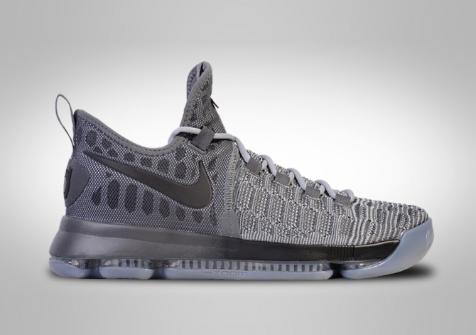 NIKE ZOOM KD 9 BATTLE GREY