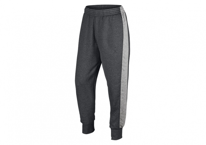 NIKE AIR JORDAN 3 FLEECE PANT CHARCOAL HEATHER