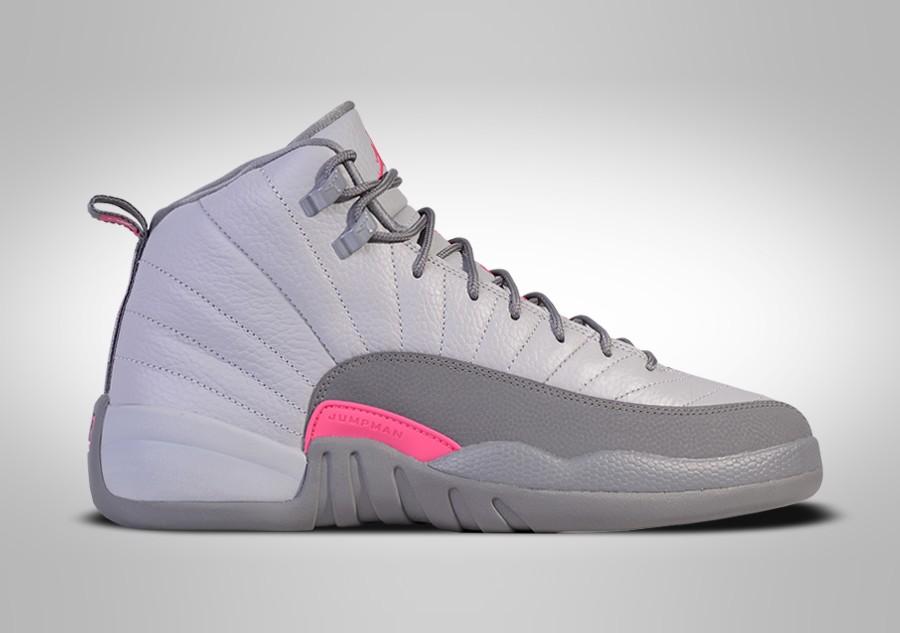 f3d8b61d5ea3 ... spain nike air jordan 12 retro wolf grey vivid pink pour 11500  basketzone 9da0e b4053