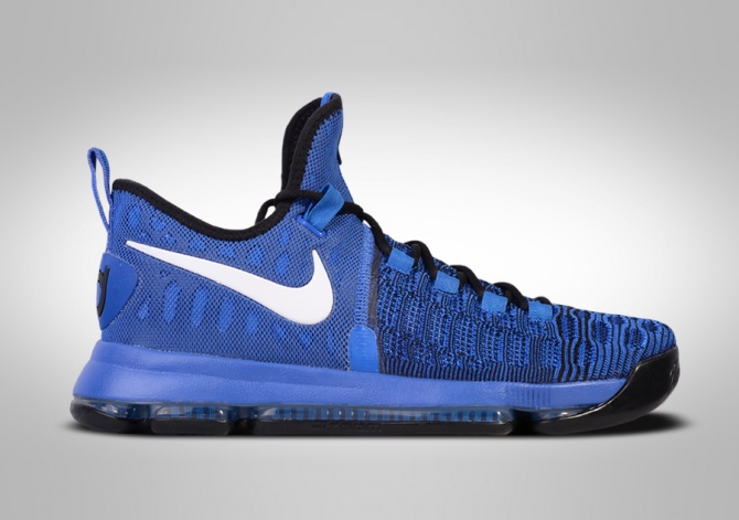 NIKE ZOOM KD 9 COURT REDY GS (SMALLER SIZE)
