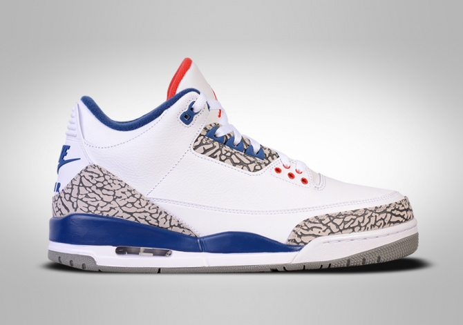 NIKE AIR JORDAN 3 RETRO OG TRUE BLUE BG (SMALLER SIZE)