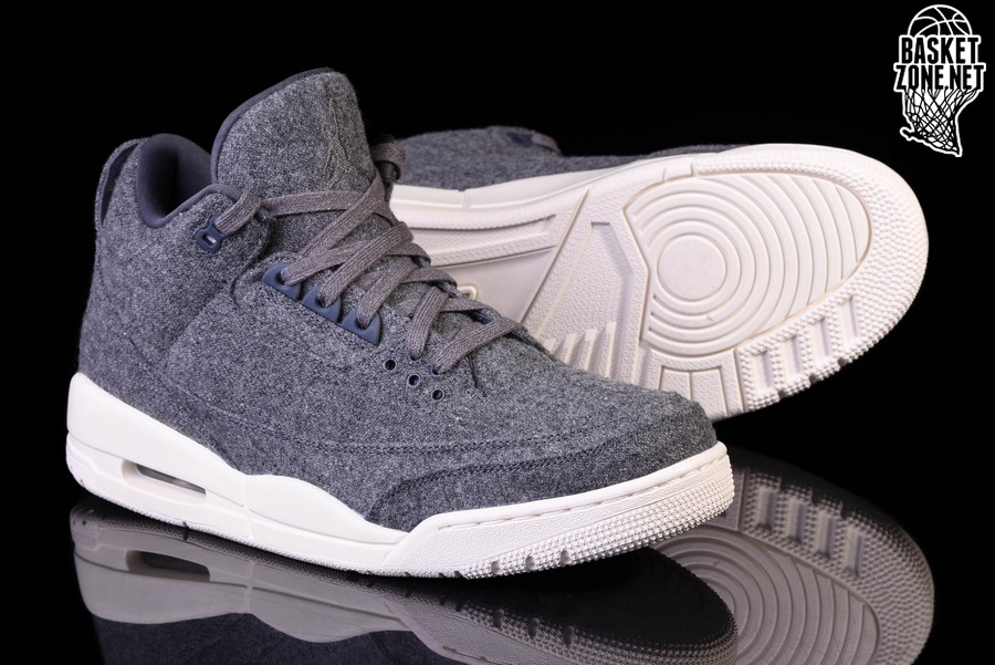 brand new 8b718 ce08d NIKE AIR JORDAN 3 RETRO WOOL