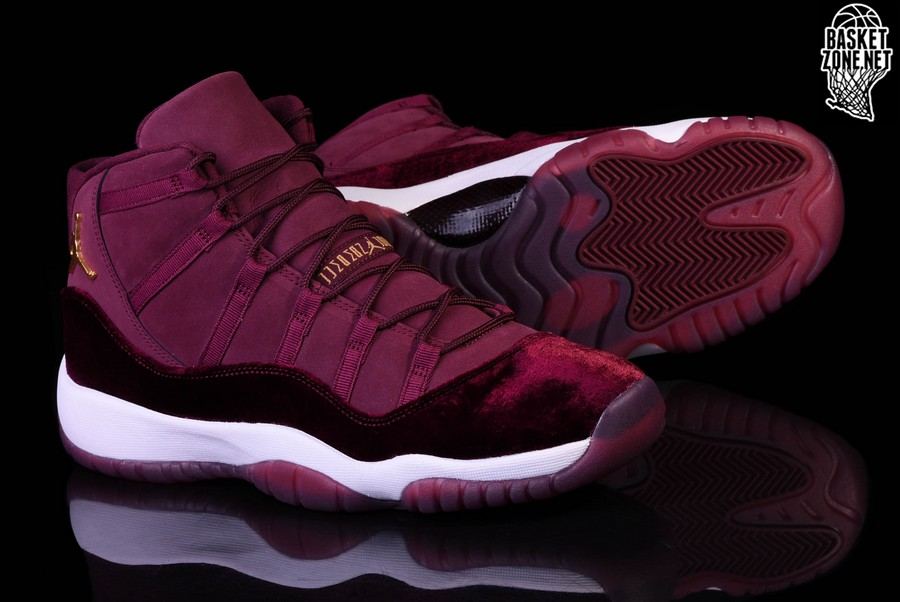 NIKE AIR JORDAN 11 RETRO GS NIGHT MAROON VELVET HEIRESS